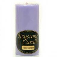 3 x 6 Lemon Lavender Pillar Candles