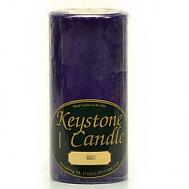 3 x 6 Lilac Pillar Candles