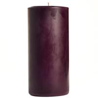 3 x 6 Merlot Pillar Candles