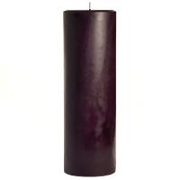 3 x 9 Merlot Pillar Candles