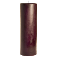 3 x 9 Spiced Plum Pillar Candles