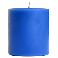 4 x 4 Blueberry Cobbler Pillar Candles