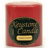 4 x 4 Frankincense and Myrrh Pillar Candles