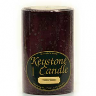 4 x 6 Black Cherry Pillar Candles