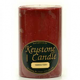 4 x 6 Cranberry Chutney Pillar Candles
