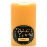 4 x 6 Creamsicle Pillar Candles