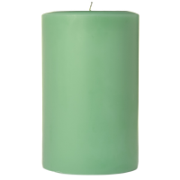 4 x 6 Honeydew Melon Pillar Candles