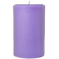 4 x 6 Lavender Pillar Candles