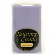 4 x 6 Lemon Lavender Pillar Candles