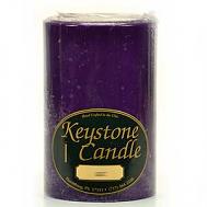 4 x 6 Lilac Pillar Candles