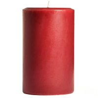 4 x 6 Raspberry Cream Pillar Candles