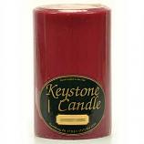 4 x 6 Raspberry Cream Pillar Candles