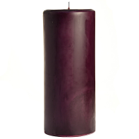 4 x 9 Black Cherry Pillar Candles