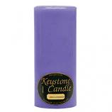 4 x 9 Lavender Pillar Candles