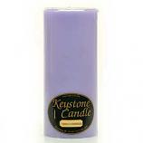 4 x 9 Lemon Lavender Pillar Candles