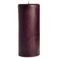 4 x 9 Merlot Pillar Candles