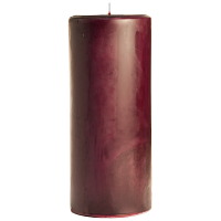 4 x 9 Spiced Plum Pillar Candles