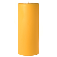 4 x 9 Sunflower Pillar Candles