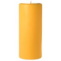 4 x 9 Sunflower Pillar Candles