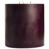 6 x 6 Black Cherry Pillar Candles