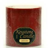 6 x 6 Cranberry Chutney Pillar Candles