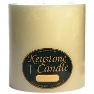 6 x 6 French Vanilla Pillar Candles