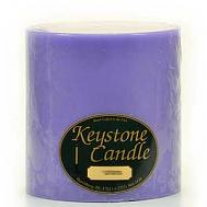 6 x 6 Lavender Pillar Candles