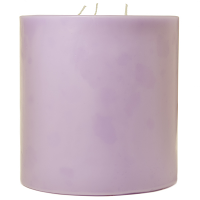 6 x 6 Lemon Lavender Pillar Candles