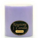 6 x 6 Lemon Lavender Pillar Candles