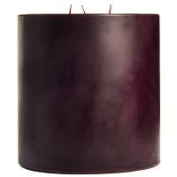 6 x 6 Merlot Pillar Candles