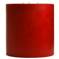 6 x 6 Mulberry Pillar Candles