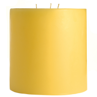 6 x 6 Pear Mango Smoothie Pillar Candles