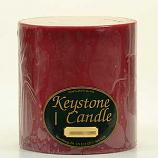 6 x 6 Raspberry Cream Pillar Candles