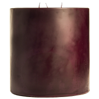 6 x 6 Spiced Plum Pillar Candles