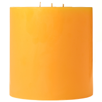 6 x 6 Sunflower Pillar Candles