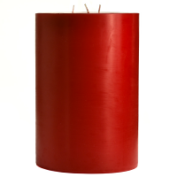 6 x 9 Cranberry Chutney Pillar Candles