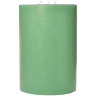 6 x 9 Honeydew Melon Pillar Candles