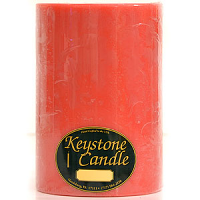 6 x 9 Juicy Peach Pillar Candles