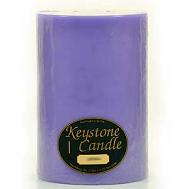 6 x 9 Lavender Pillar Candles