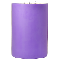 6 x 9 Lavender Pillar Candles