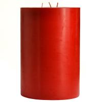 6 x 9 Macintosh Apple Pillar Candles