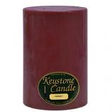 6 x 9 Spiced Plum Pillar Candles
