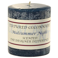 Rustic Midsummer Night 3 x 3 Pillar Candles