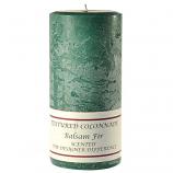 Textured Balsam Fir 3 x 6 Pillar Candles
