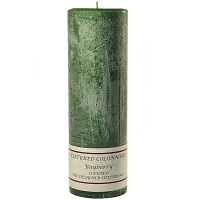 Textured Bayberry 3 x 9 Pillar Candles
