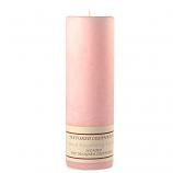 Textured Black Raspberry Vanilla 3 x 9 Pillar Candles