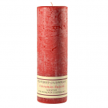 Textured Cinnamon Balsam 3 x 9 Pillar Candles