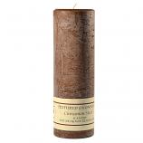 Textured Cinnamon Stick 3 x 9 Pillar Candles