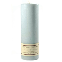 Textured Cool Citrus Basil 3 x 9 Pillar Candles