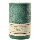 Textured Balsam Fir 4 x 6 Pillar Candles